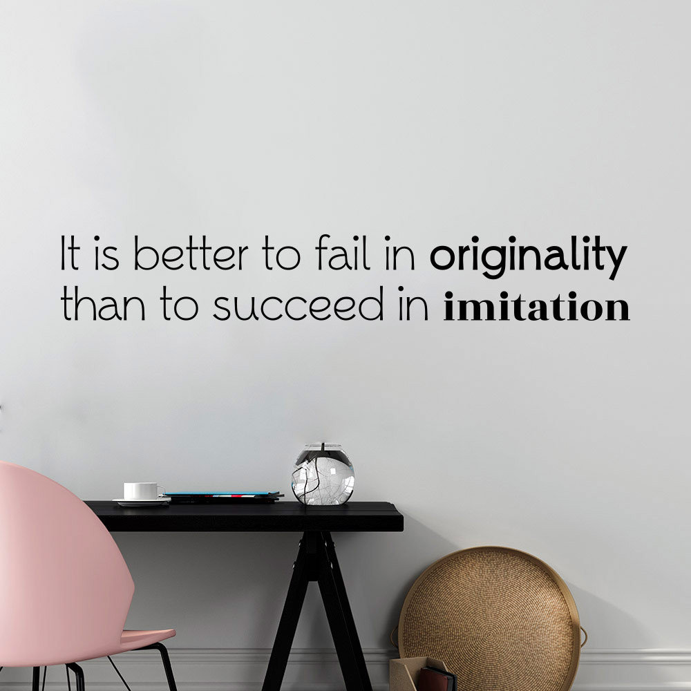 Fail in originality