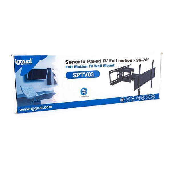 TV-holder iggual SPTV03 IGG314654 36''''-70'''' Sort