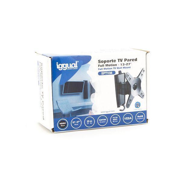 TV-holder iggual SPTV08 IGG314609 13''''-27'''' Sort