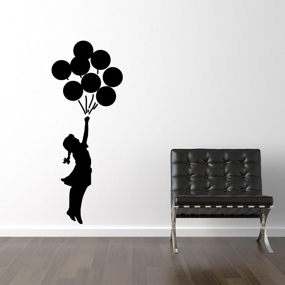 Flyvende balloner - Banksy