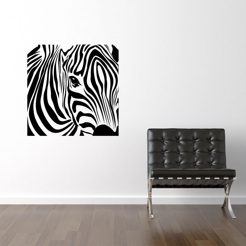 Firkantet zebra