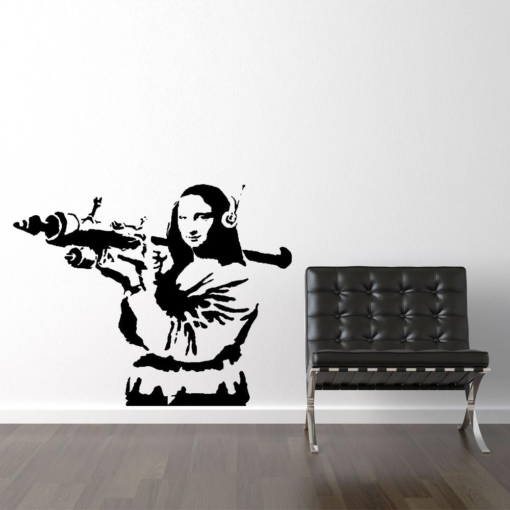 Mona Lisa bazooka - Banksy