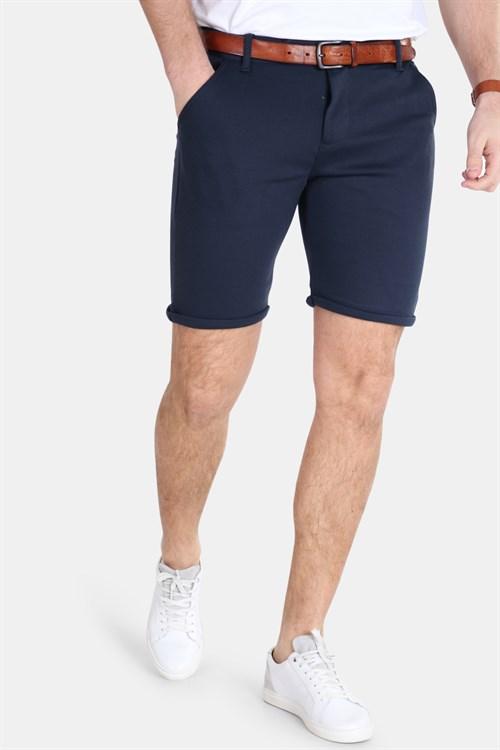 Kronstadt Keld Pant Shorts Navy Mel