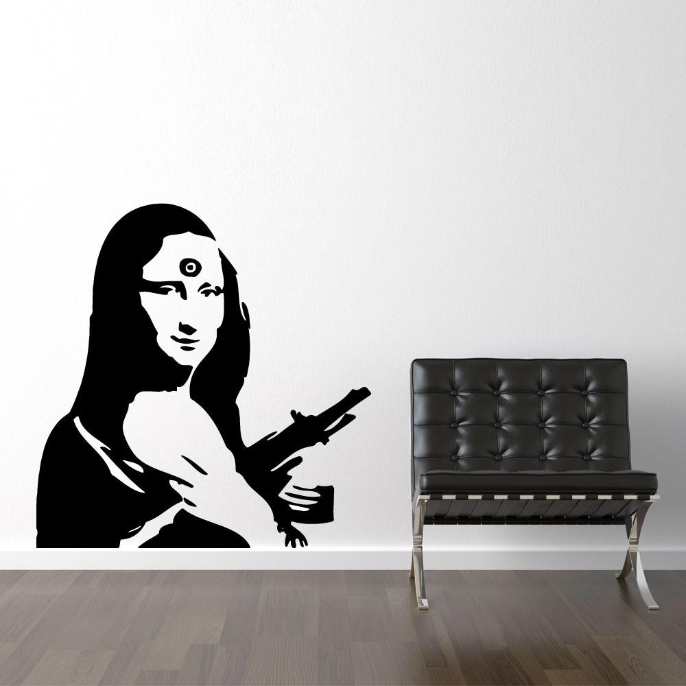 Mona Lisa AK47 - Banksy