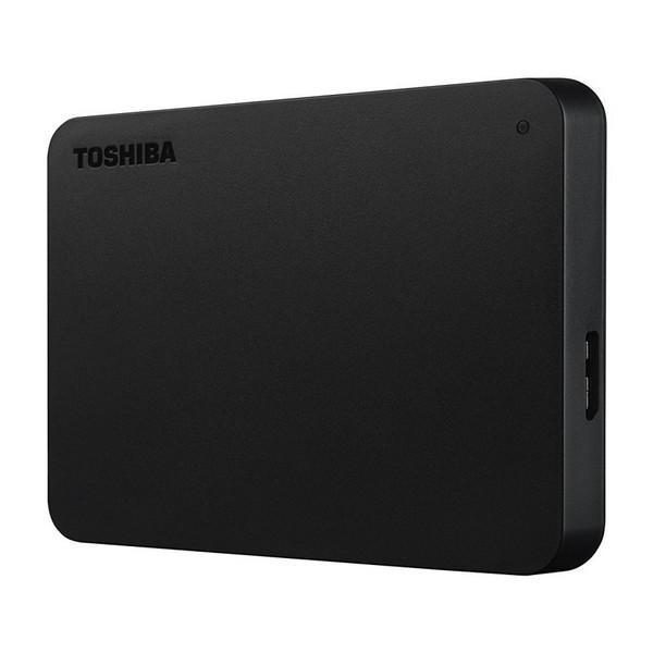 Ekstern harddisk Toshiba HDTB420EK3AA 2 TB 2,5'''' USB 3.0 Sort