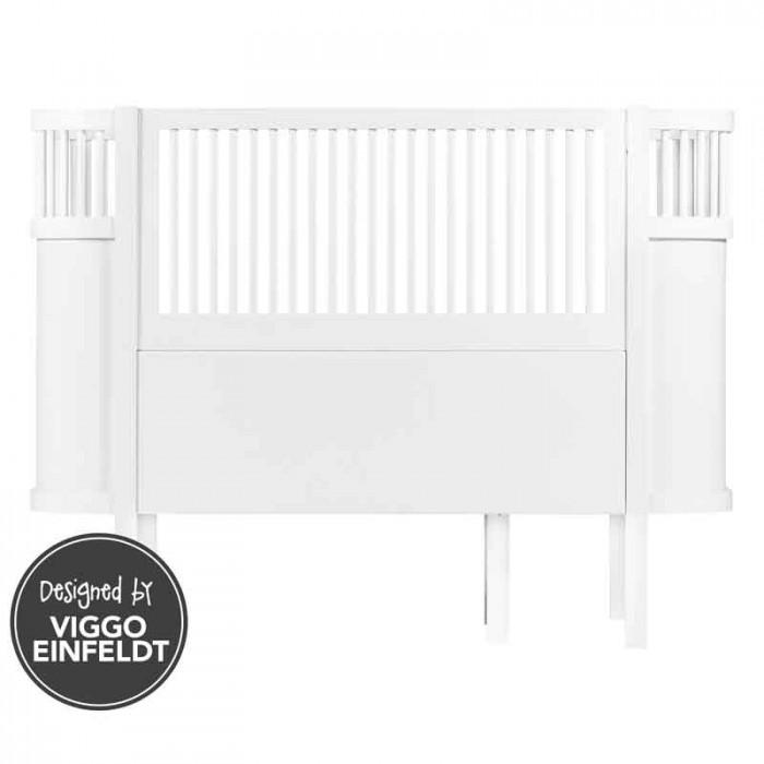 Sebra baby & junior seng (hvid)