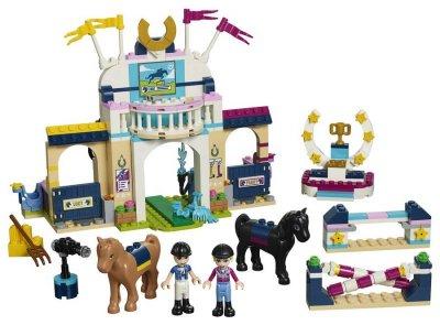 Lego Friends - Stephanies Ridespringningsbane - 41367