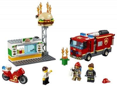 Lego City - Brand På Burgerbaren - 60214