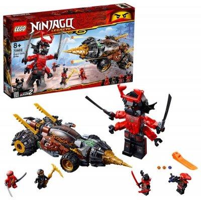 Lego Ninjago - Coles Jordbor - 70669
