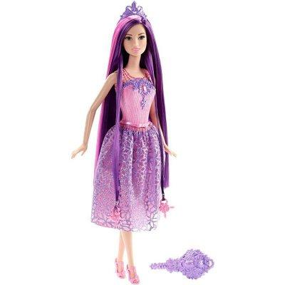 Barbie Dukke - Endless Hair Kingdom Prinsesse - Lilla Hår