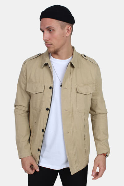 Just Junkies Shang Overshirt Sand