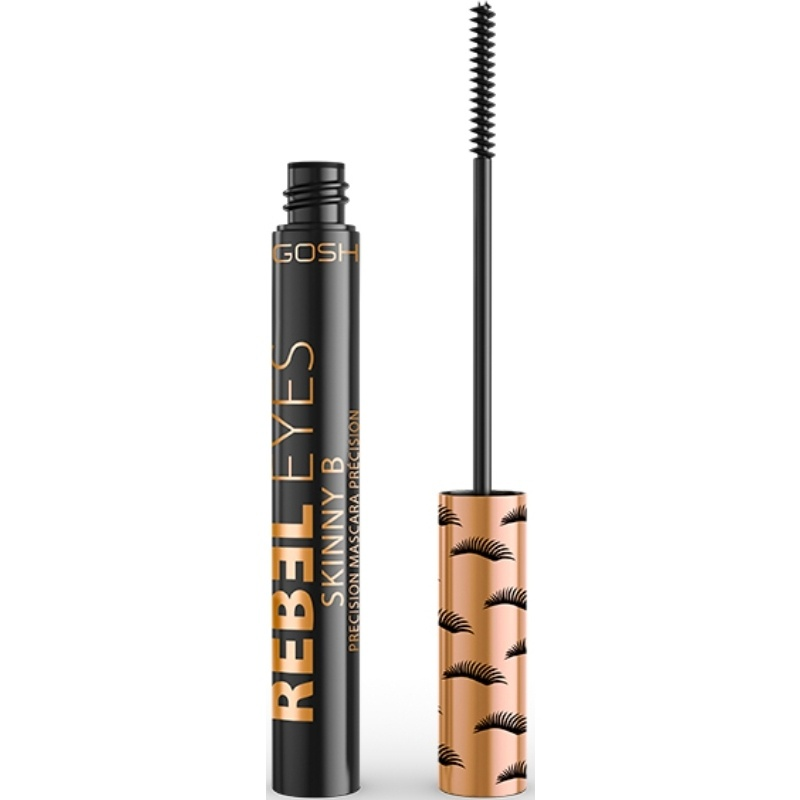 GOSH Rebel Eyes Mascara Skinny B 6 ml - 001 Extreme Black