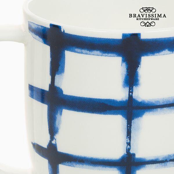 Cup Porcelæn Kvadratov Hvid - Kitchen's Deco Samling by Bravissima Kitchen