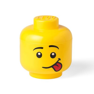 Room Copenhagen - Lego Opbevaringshoved - Fjollet - Lille