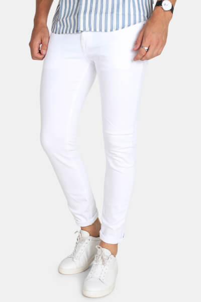 Jack & Jones Glenn Felix Jeans White
