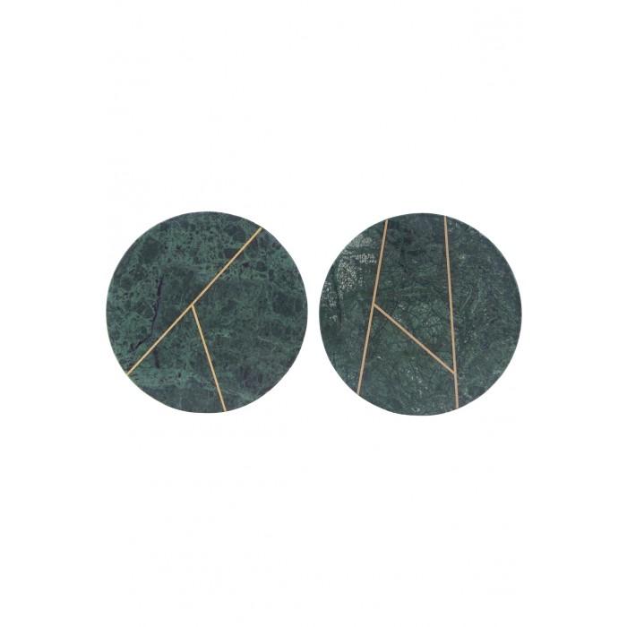 House doctor platte marble grøn marmor 2 assorteret