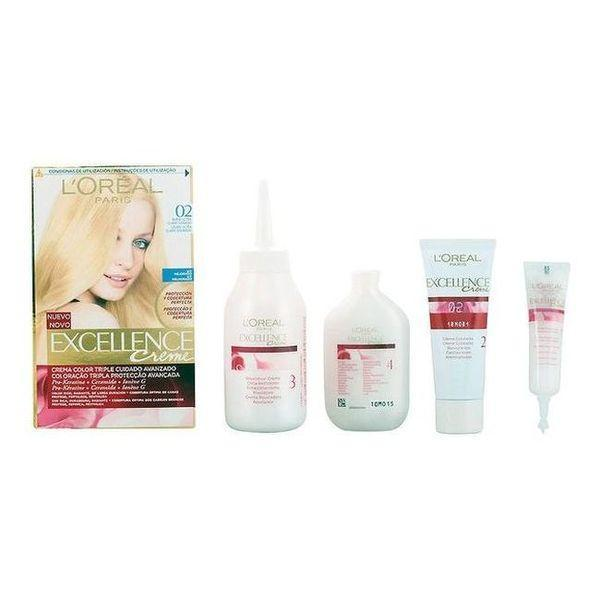 Permanent Farve Excellence L'Oreal Expert Professionnel Ultra lys gylden blond