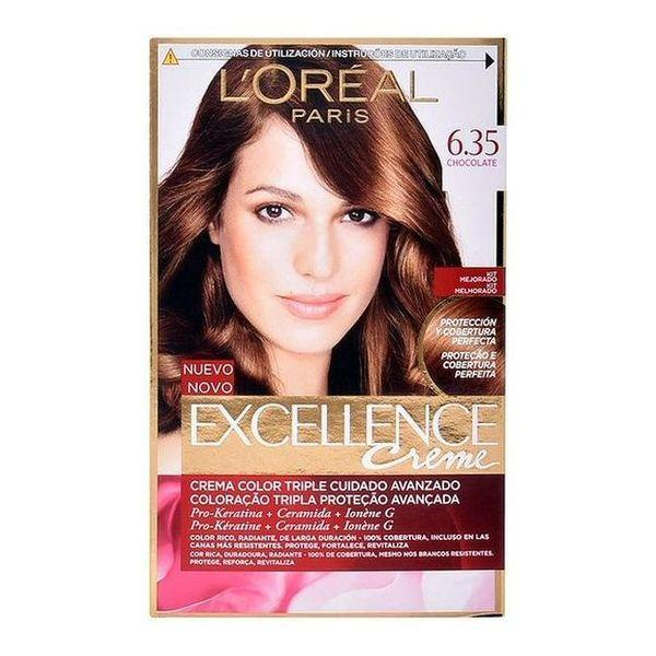 Permanent Farve Excellence L'Oreal Expert Professionnel Chokolade