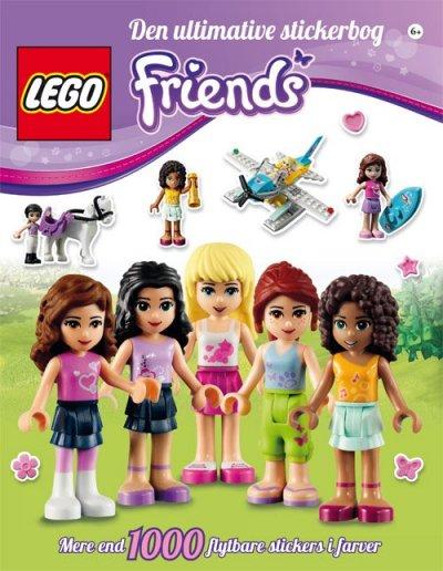 Lego Friends Stickerbog