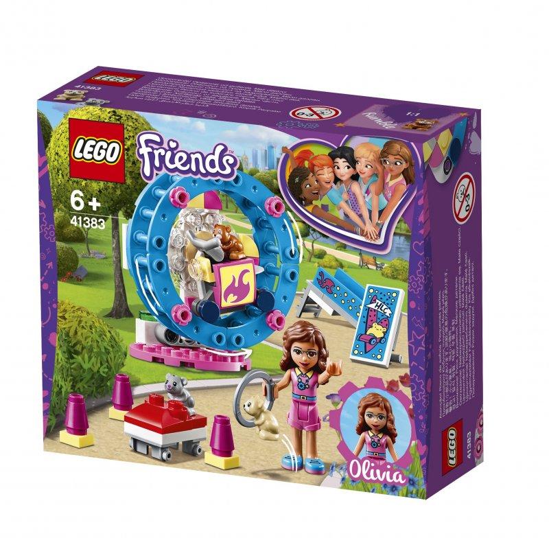 Lego Friends - Olivias Hamster Legeplads - 41383