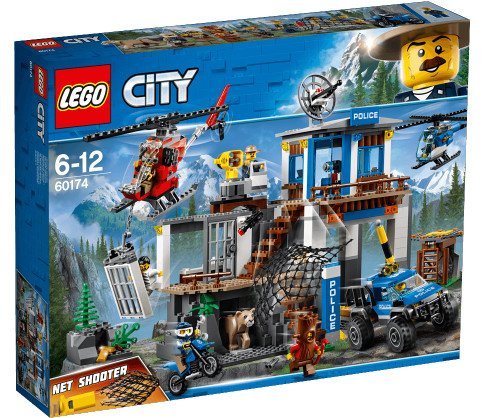 Lego City - Bjergpolitiets Hovedkvarter - 60174