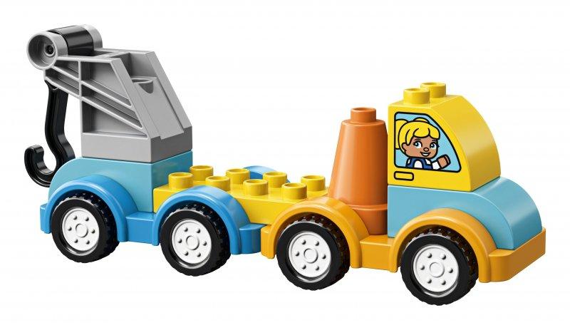 Lego Duplo - Min Første Kranvogn - 10883