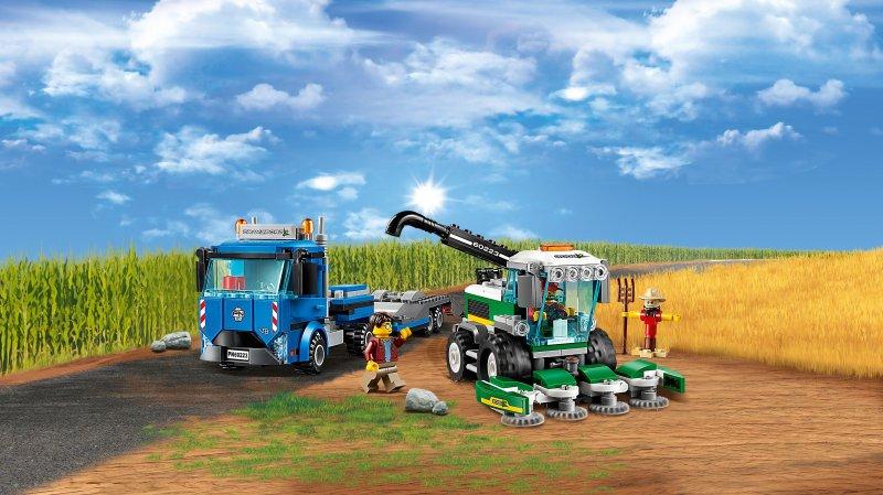 Lego City - Grønthøstertransport - 60223