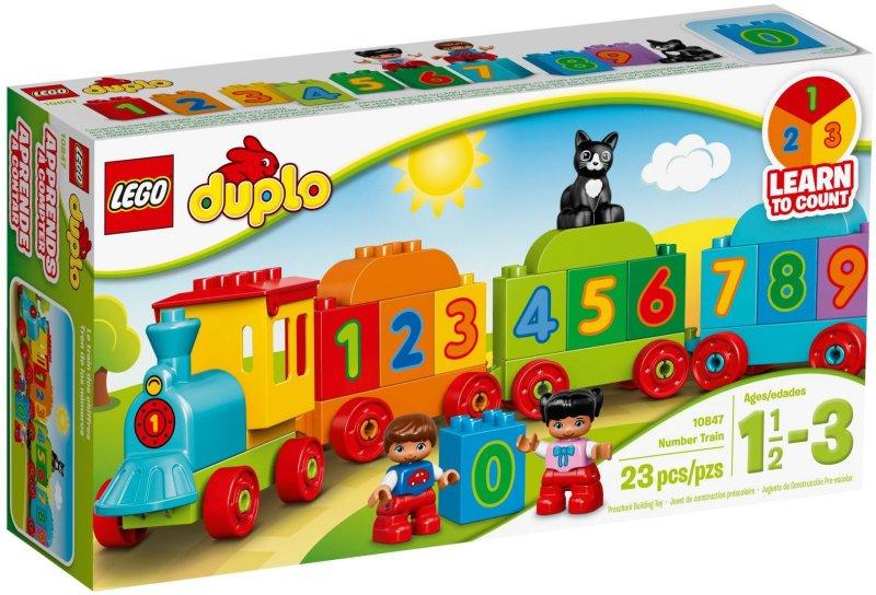 Lego Duplo - Tog Med Tal - 10847