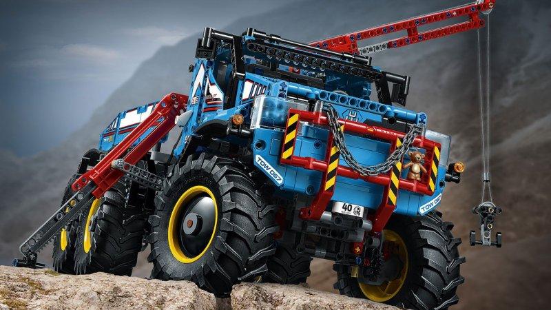 Lego Technic 42070 - Sekshjulet Terrængående Kranvogn