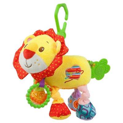 Aktivitetsbamse Løve Med Bidering Og Vibration Til Baby - Fra 3 Mdr