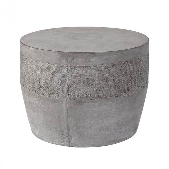 Bloomingville mesa bord (grå/beton/ø50xh37 cm)