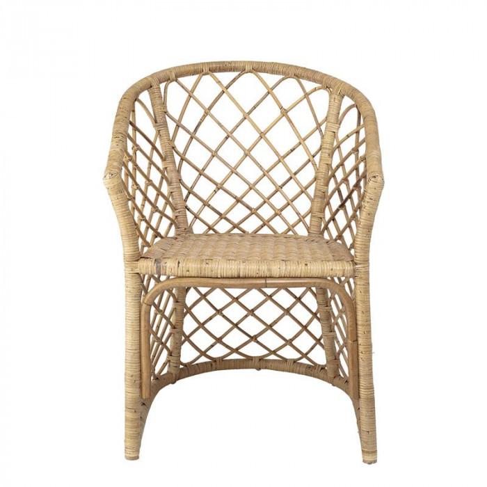 Bloomingville stol (natur/rattan/l61xh82xb69 cm)