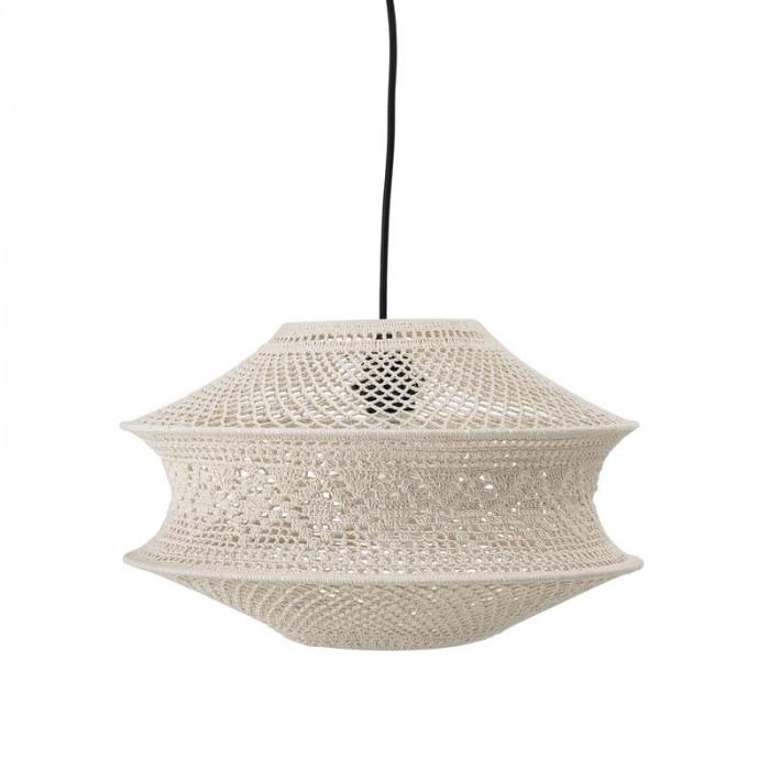 Bloomingville lampeskærm (natur/bomuld/ø40xh27 cm)