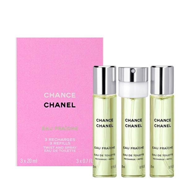 Chanel Dameparfume - Chance Eau Fraiche Edt 3X20 Ml