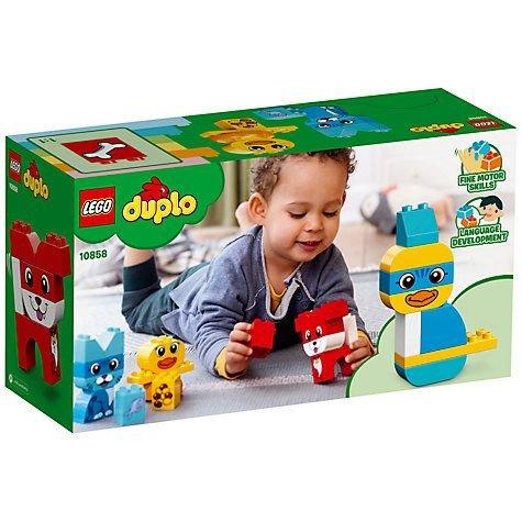 Lego Duplo - Mine Første Puslerier - Dyr - 10858