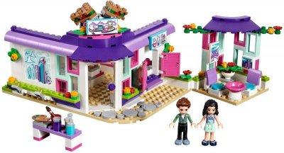 Lego Friends - Emmas Kunstcafé - 41336
