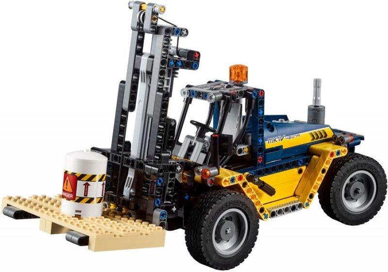 Lego Technic - Stor Gaffeltruck 2-I-1 Byggesæt