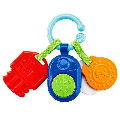Fisher Price - Aktivitetslegetøj Til Baby - Nøgler Med Musik