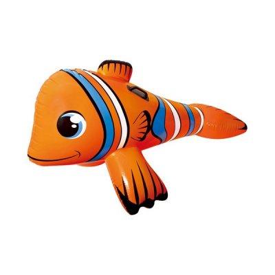 Oppustelig Badedyr Til Pool - Klovnefisk - Orange