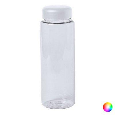 Vandflaske Til Køleskabet - Gennemsigtig Plastik - 500 Ml - Hvid