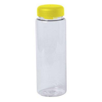 Vandflaske Til Køleskabet - Gennemsigtig Plastik - 500 Ml - Gul