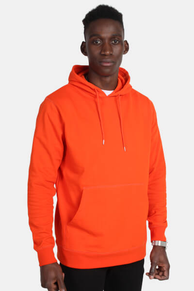 WEARECPH Amadou Hood Sweat Orange