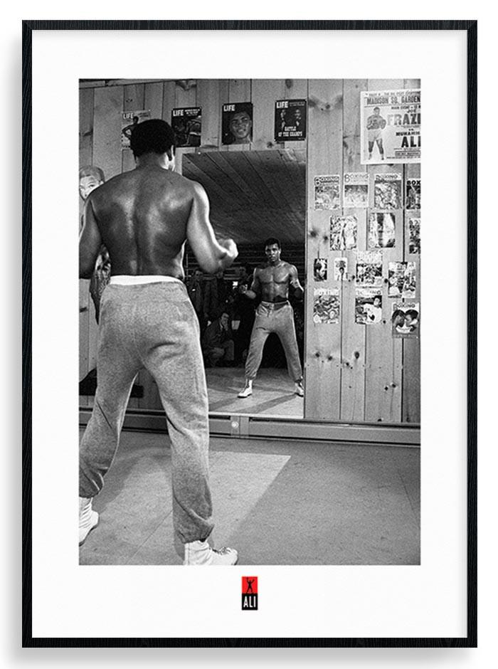 Muhammad Ali (Mirror) Plakat
