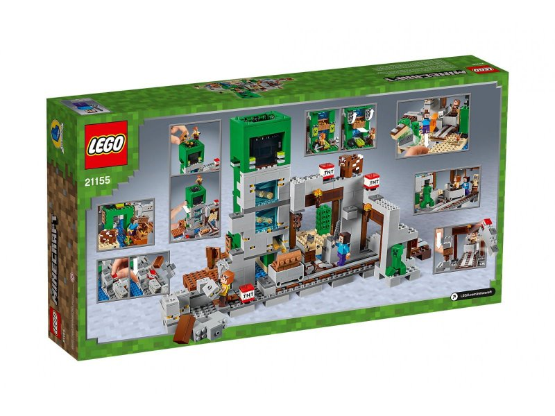 Lego Minecraft - Creeper-Minen - 21155