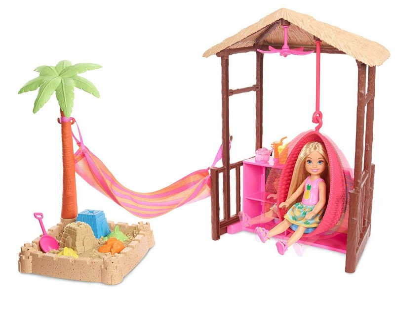 Barbie Dukke - Dreamhouse Adventures - Tiki Hytte