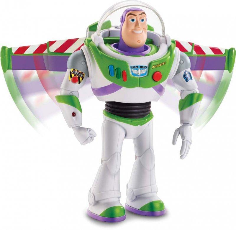 Toy Story 4 - Gående Buzz Lightyear Figur