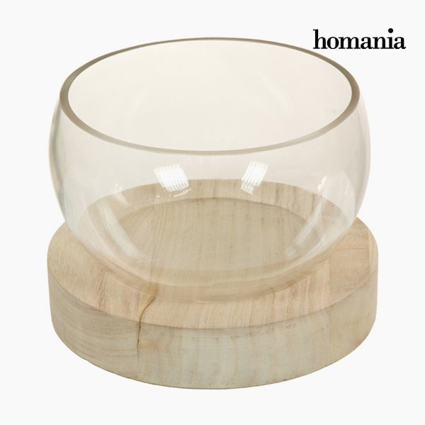 Homania - Borddekoration - Pure Crystal - Træ Og Glas