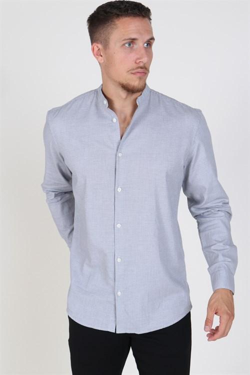 Selected Slim Port Skjorte Medium Blue Denim