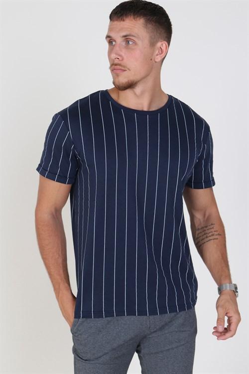 Clean Cut Lazio T-shirt Navy