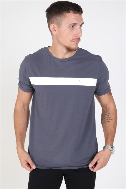 Clean Cut Axel Logo T-shirt Charcoal